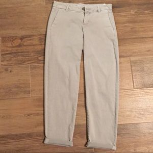 Gray Liverpool Casual Trousers